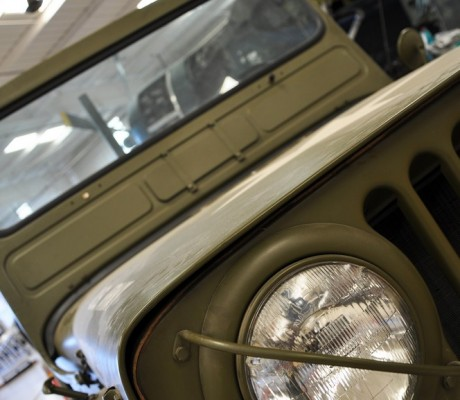 Army Jeep – Commemorative Air Force Museum – Mesa, Arizona