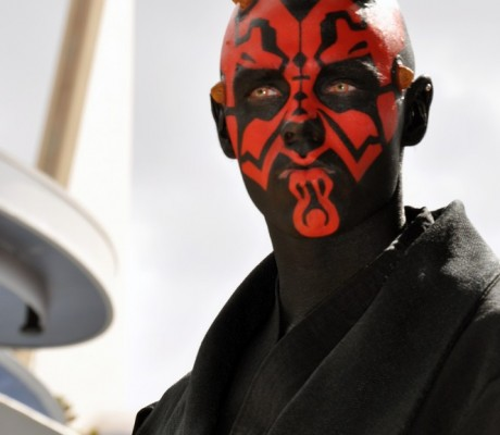 Darth Maul at the Happiest Place on Earth