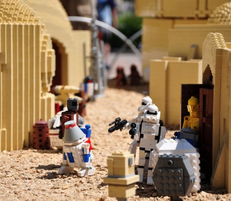 These are the droids we're looking for – Legoland
